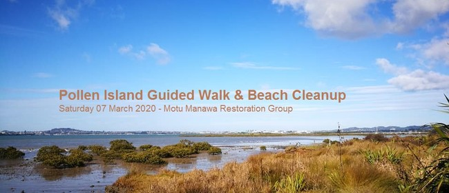 Guided Walk & Beach Cleanup - Pollen Island
