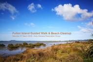 Guided Walk & Beach Cleanup - Pollen Island