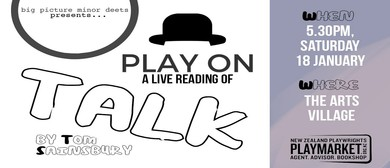 Play On: Talk by Thomas Sainsbury