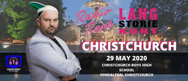 Radioraps | Lang Storie Kort | Christchurch