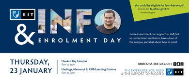Information and Enrolment Day