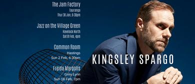 Kingsley Spargo with Davey Beige
