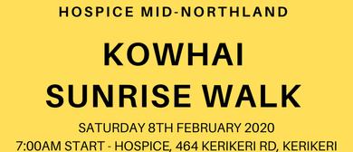 Kowhai Sunrise Walk