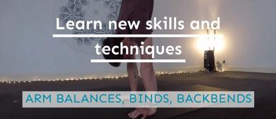 Vinyasa Yoga Masterclass Series: CANCELLED