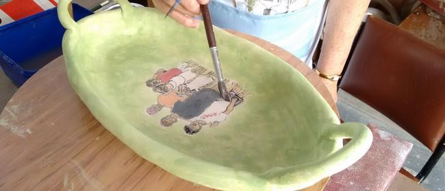 Hand Built Pottery with Yasmin