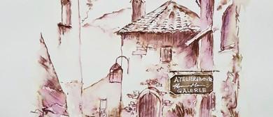 Workshop: Watercolours & Ink Pen