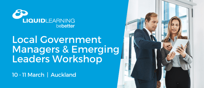 Local Government Managers & Emerging Leaders Workshop