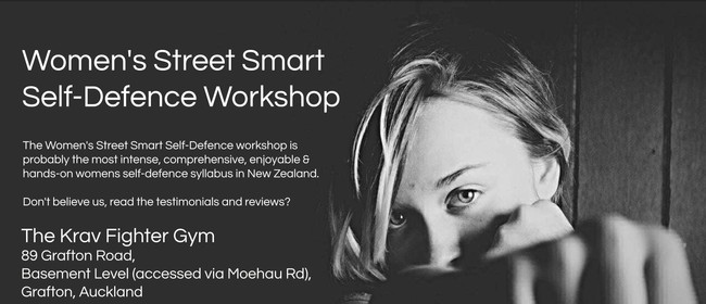 Women's Street Smart Self-Defence Workshop - Grafton
