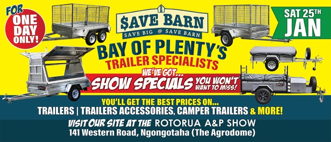 Savebarn at the Rotorua A&P Show