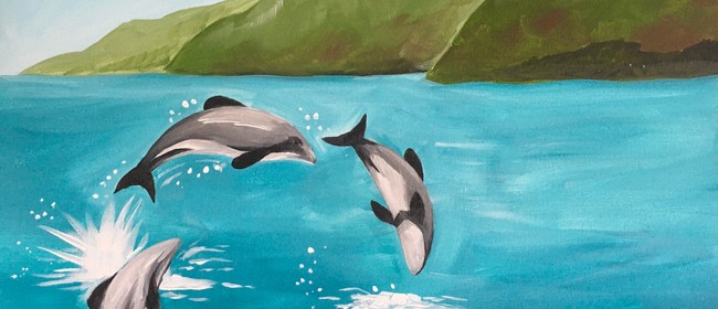 Paint & Wine Night - Hector's Dolphins - Paintvine: CANCELLED