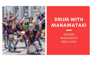 Drum With Manawataki