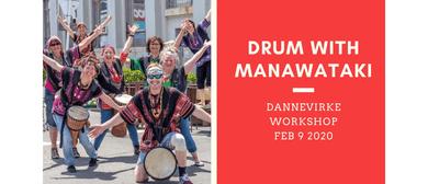 Drum With Manawataki