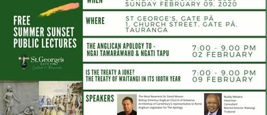 Is the Treaty a Joke? – The Treaty of Waitangi 180 Years On