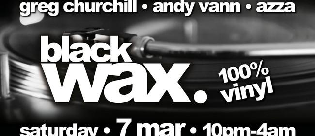 Black Wax (100% Vinyl)