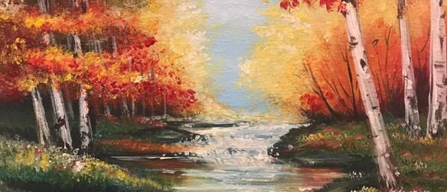 Paint & Chill Night - Forrest Stream