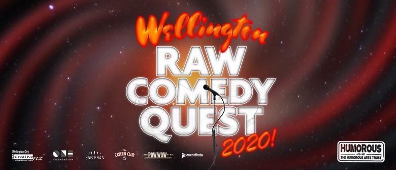 2020 Wellington Raw Comedy Quest Heat 1