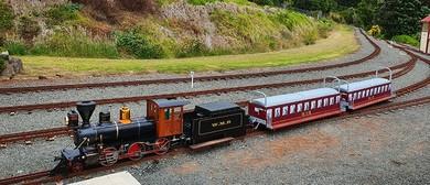 Miniature Train Anniversary Weekend Running