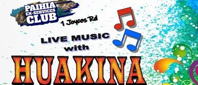 Live Music with Huakina