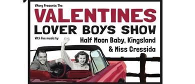 Valentines with Half Moon Baby, Kingsland & Miss Cressida