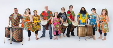 QB Music Festival - Kubatana Drumming Circle