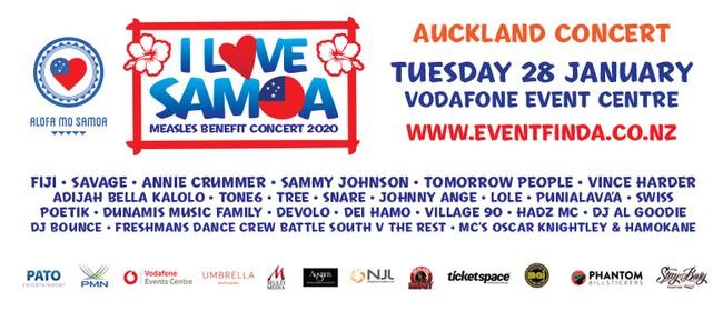 'I LOVE SAMOA 2020 Benefit Concert