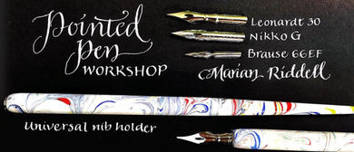 Pointed Pen Lettering - Calligraphy