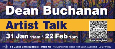 Artist Talk by Dean Buchanan