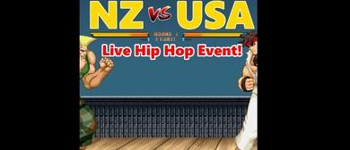 NZ vs USA: Live Hip Hop Show