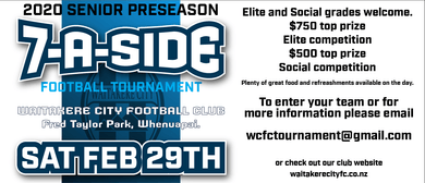 7 A Side Football Tournament