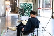 Simon Ingram: Neuro-Action-Painting