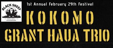 Kokomo & Grant Haua Trio