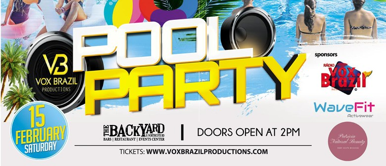 Pool Party - VB Productions Hosted by The Backyard Bar