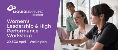 Women's Leadership & High Performance Workshop