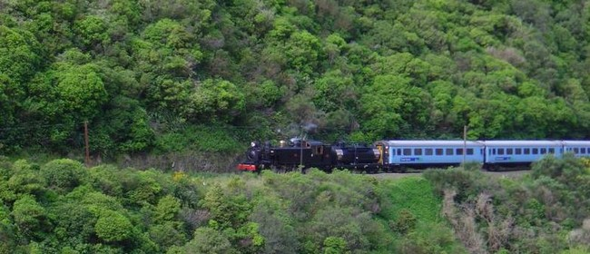 Train Trip Through the Manawatu Gorge