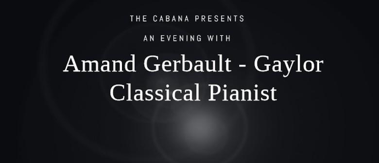 Amand Gerbault – Gaylor. Classical Pianist