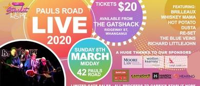 Pauls Road Live 2020