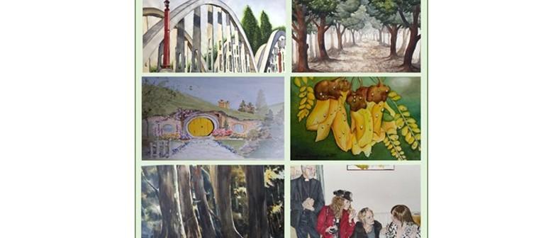 The Waikato Watercolourists Exhibition