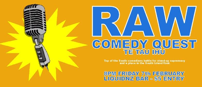 Raw Comedy Quest - Te Tau Ihu