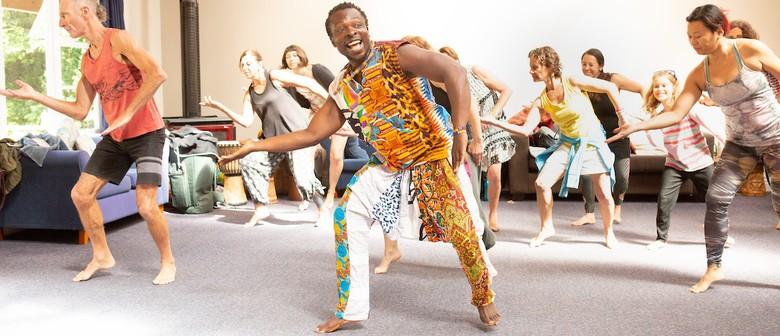 West African Dance Workshop with Koffie Fugah