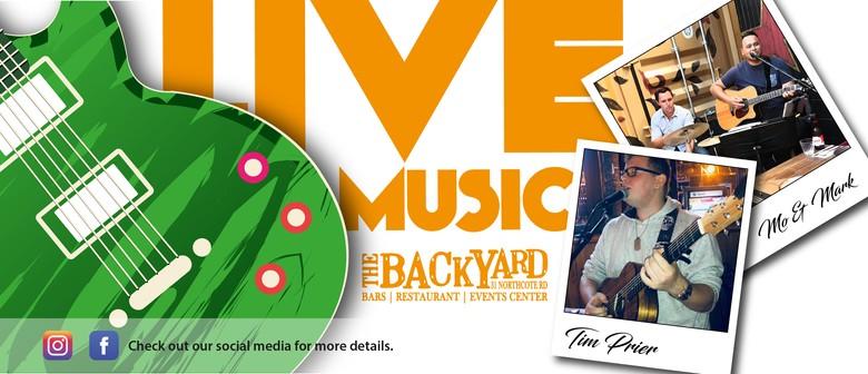 Live Music at The Backyard Bar
