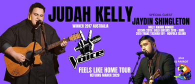 Judah Kelly - Feels Like Home NZ Tour