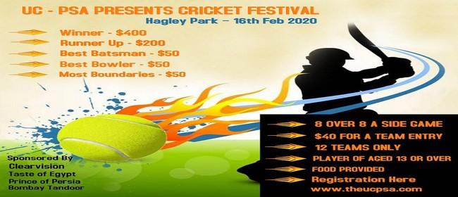 UC - PSA Cricket Festival