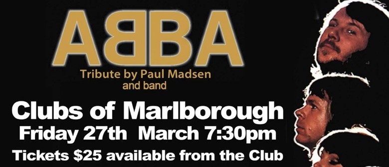 Abba Tribute by Paul Madsen and Band: CANCELLED