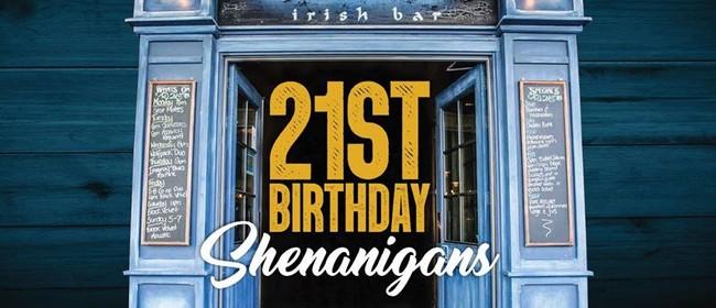 21st Shenanigans - Birthday Week
