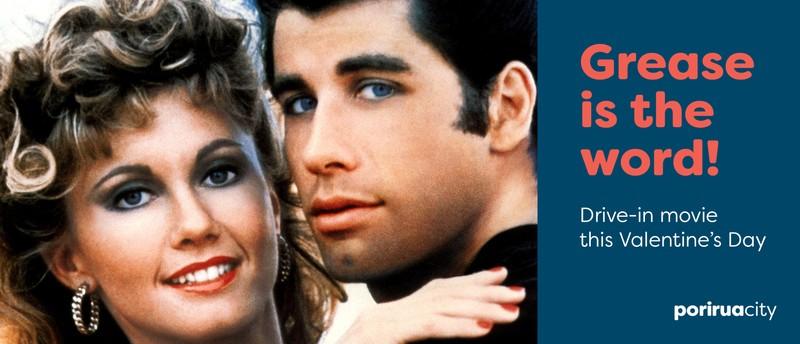 Grease 1978 Drive In Movie Valentine S Day Porirua Mana Eventfinda