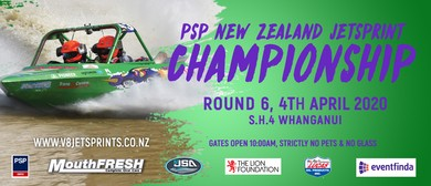Round 6 PSP New Zealand Jetsprint Championship: CANCELLED