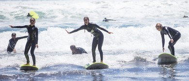 Surf Lessons with Green Wave