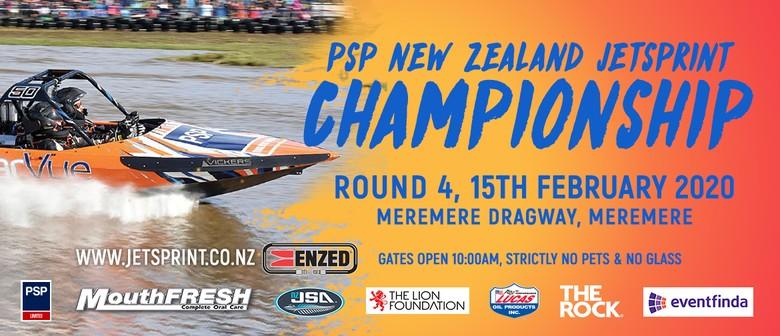 Round 4, 2020 PSP New Zealand Jetsprint Championship