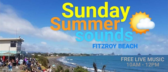 Sunday Summer Sounds - Music Fitzroy Beach