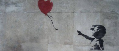 Wine and Paint Party (BYO) - Banksy's Balloon Girl Painting